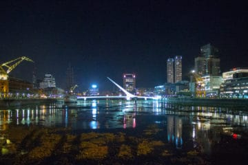 Puerto Madero by night