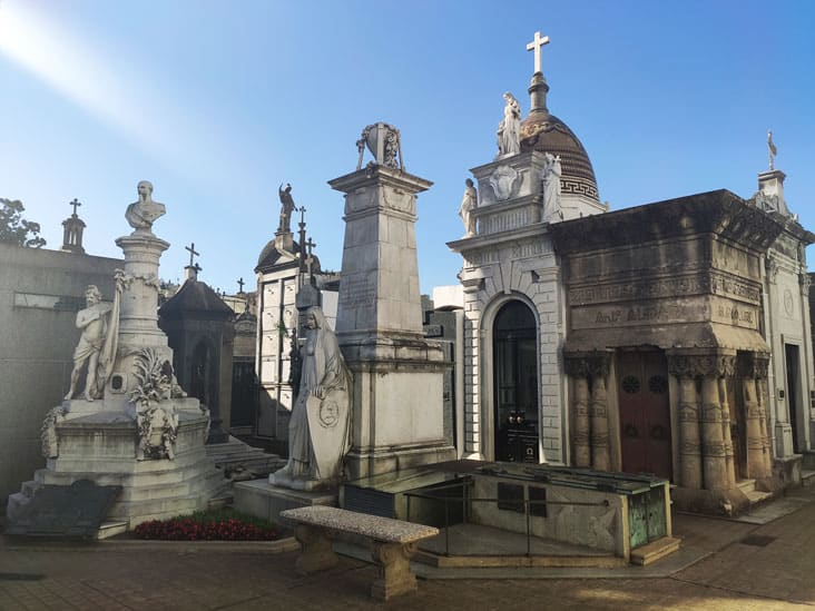 Recoleta Cemery is the most visited attractionin Buenos Aires