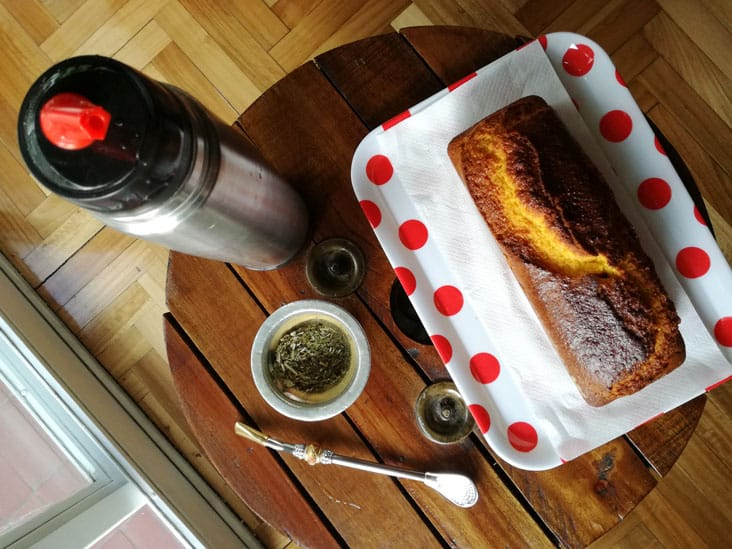 mate and budin perfect for merienda