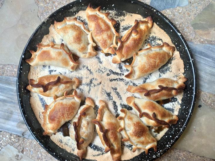 Homemade traditional Buenos Aires Empanadas