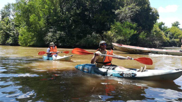 Rowing in Tigre Delta