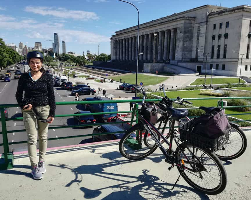 City Tour by Bike in Recoleta