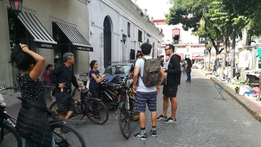 Visiting Buenos Aires just for a few hours.City Tour Buenos Aires San Telmo