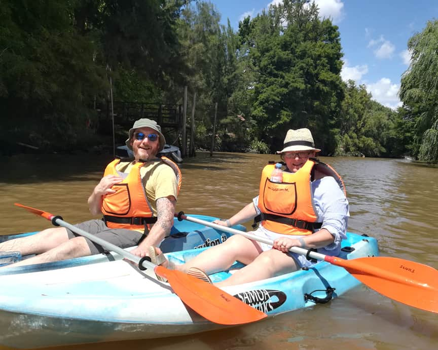 Bike and kayak tour in Tigre