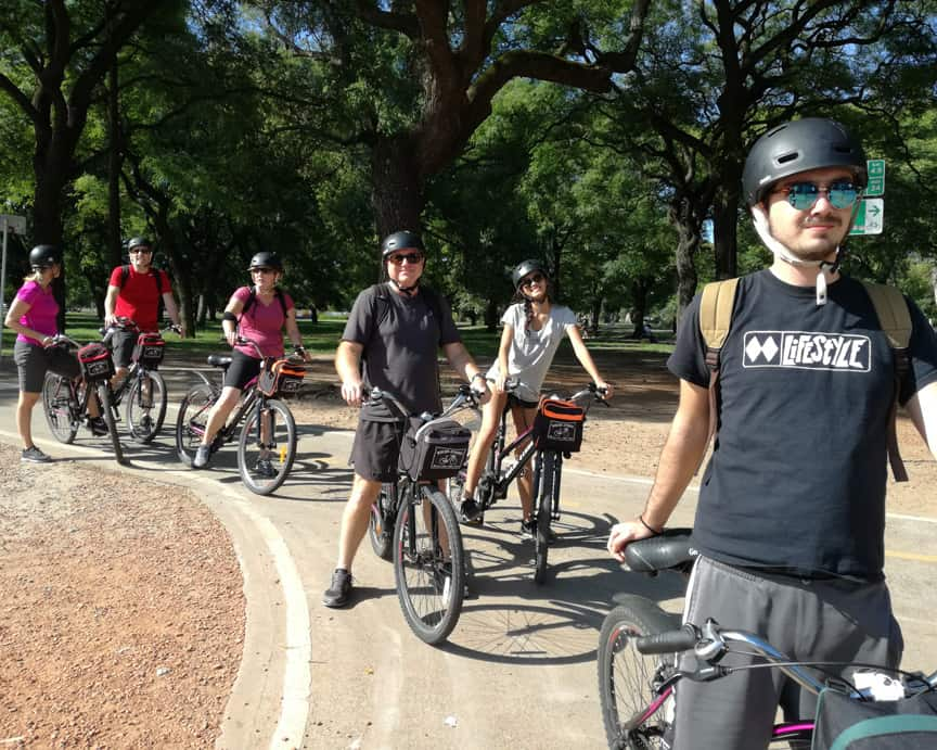 Private biking tour in Buenos Aires Palermo
