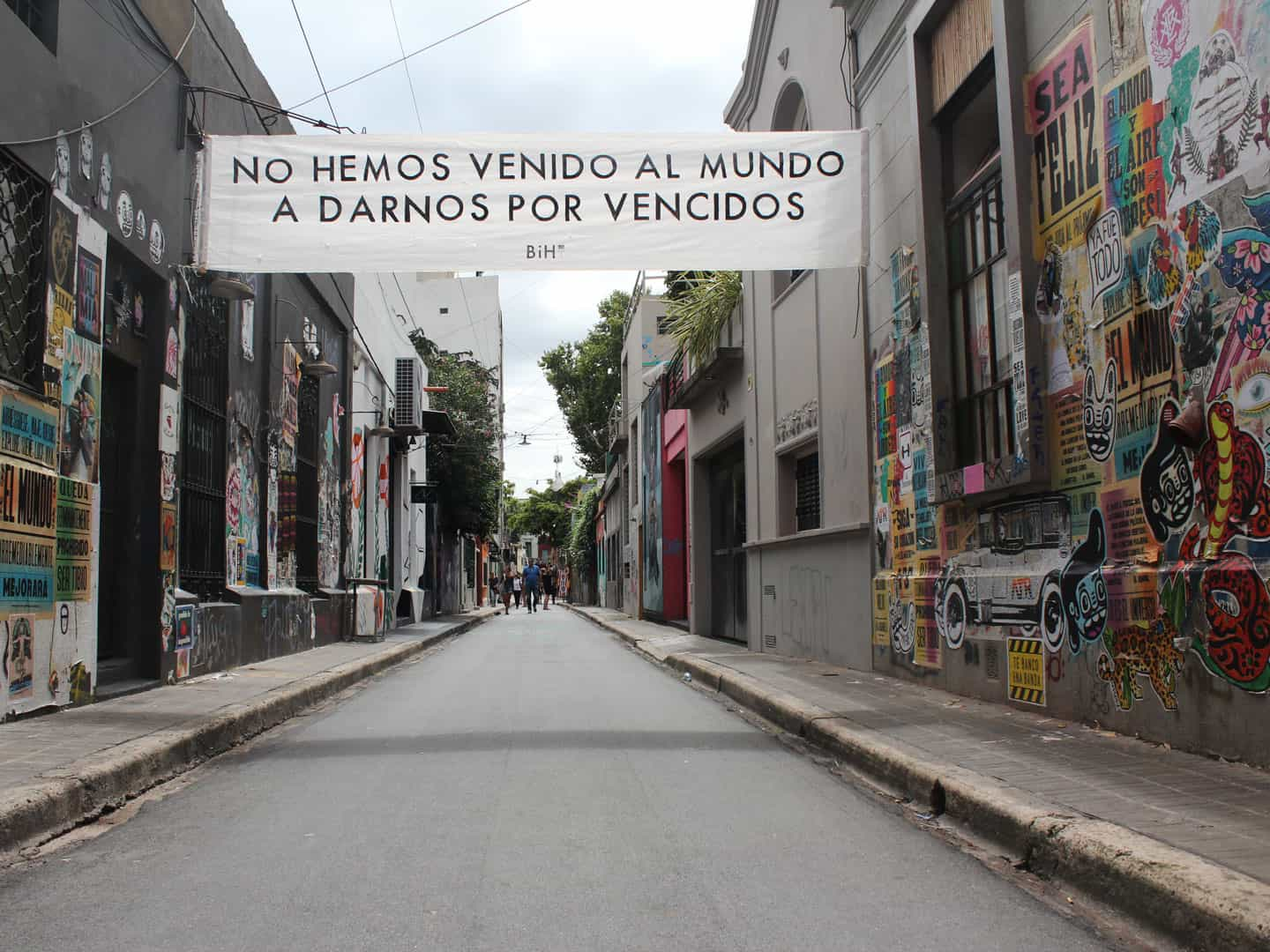 Street art in Palermo neighborhood, one of the most trendy areas in Buenos Aires