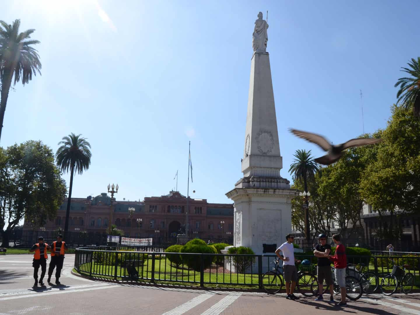 Plaza de Mayo in Buenos Aires city center