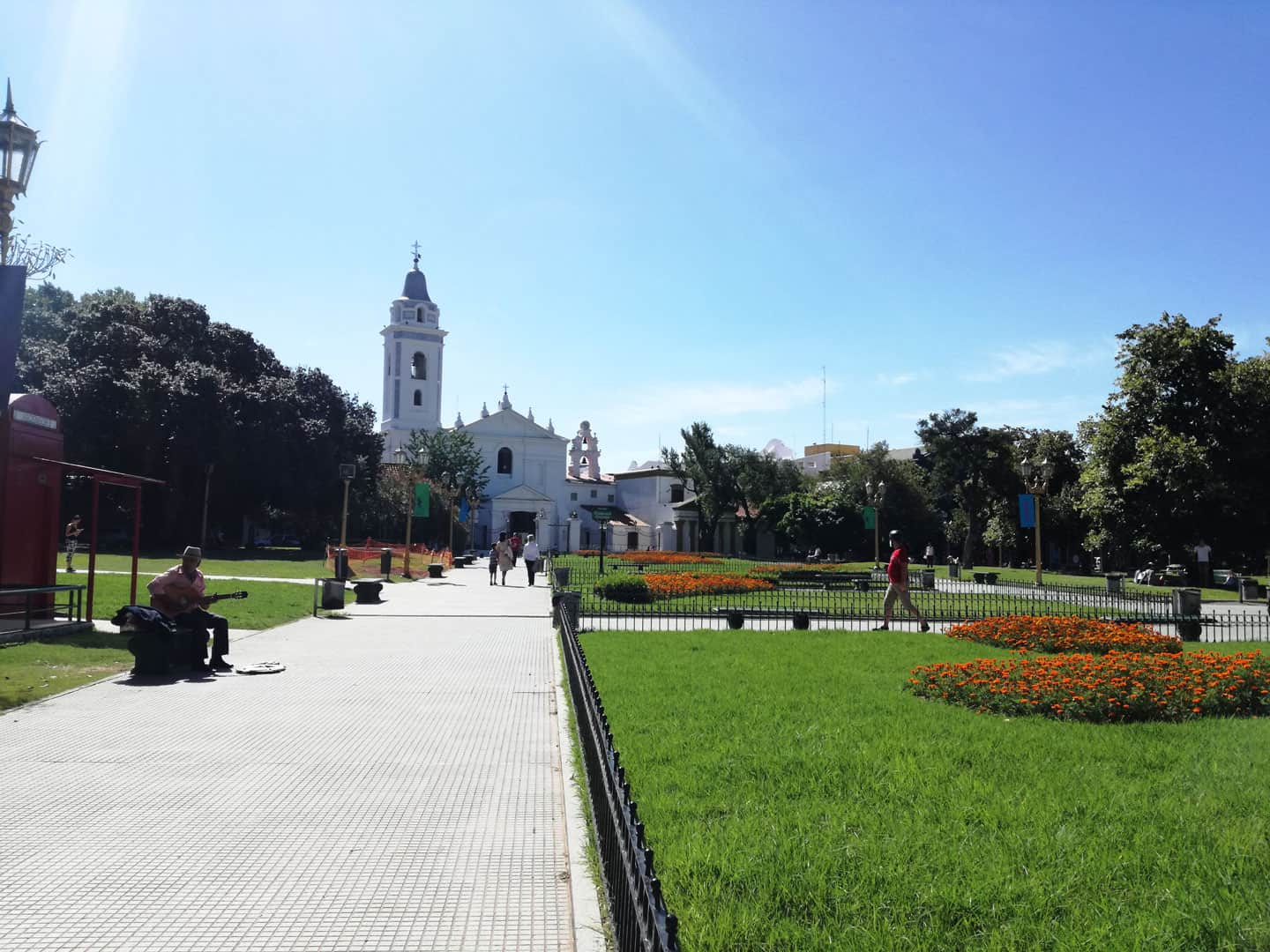 Del Pilar Church in Recoleta Area, just next to Recoleta Cemetery