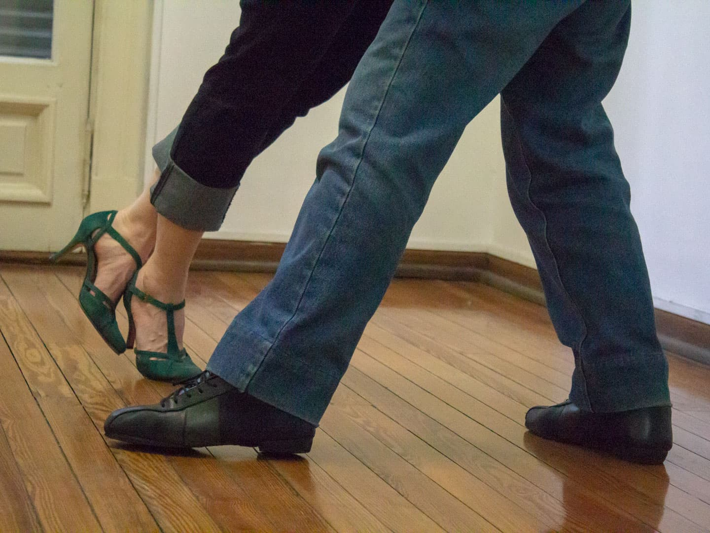 Tango lesson in Buenos Aires