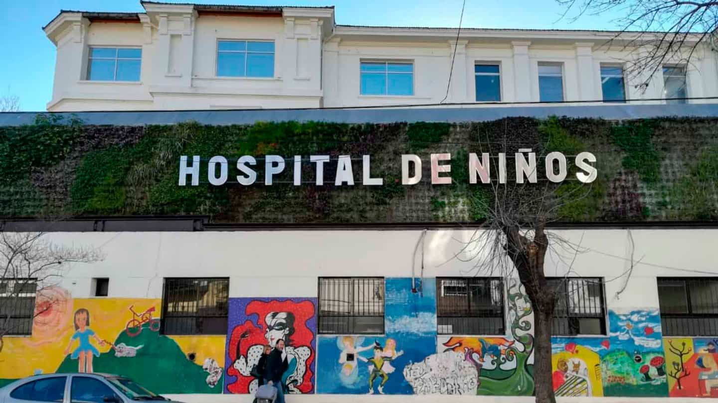 Children Hospital in Buenos Aires