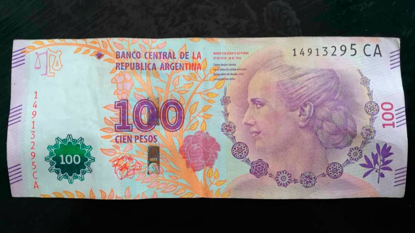 100ARS note