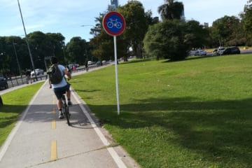 bike path Bosques de Palermo perfect for a bike tour