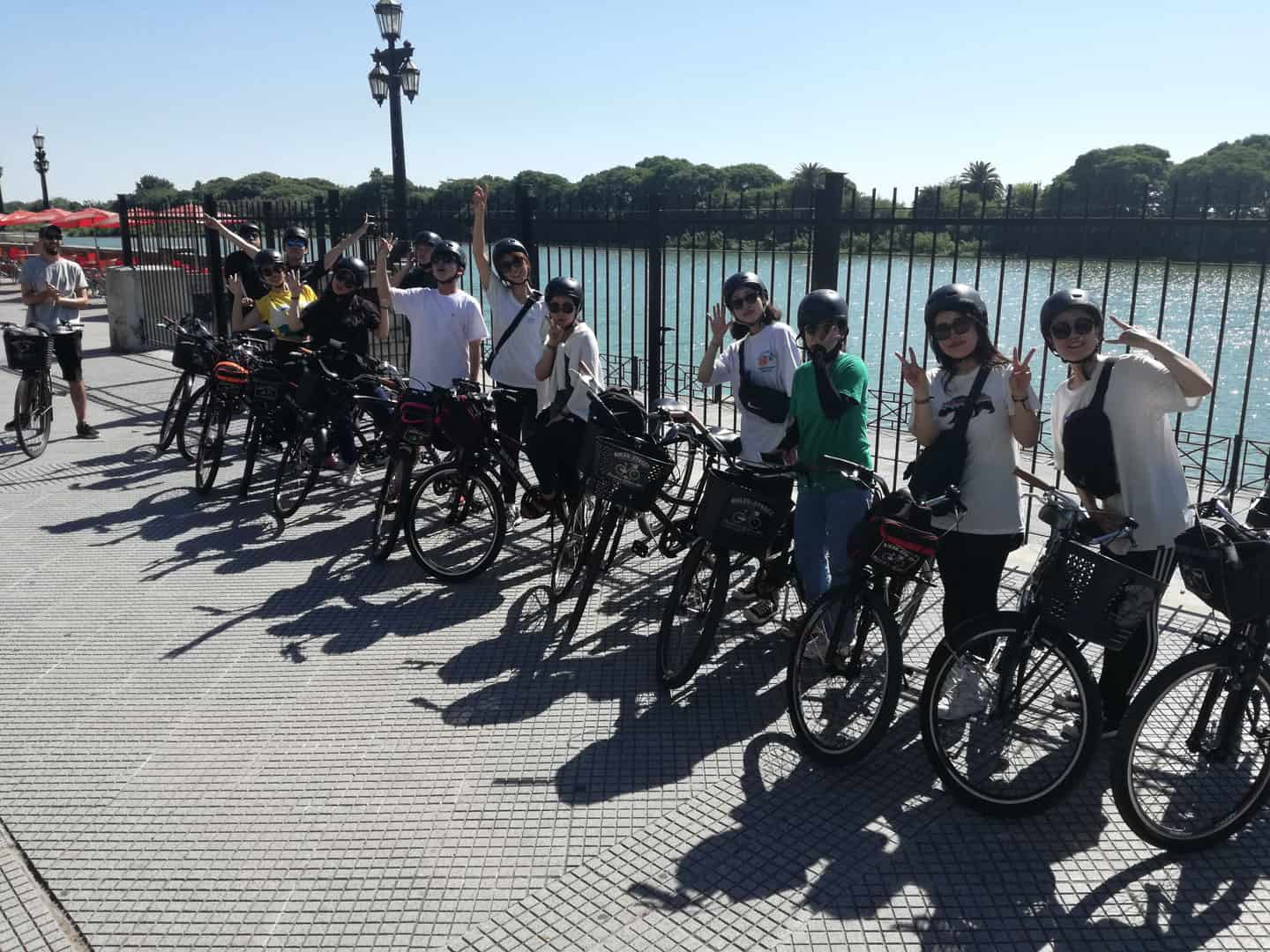 Bike tour at Costanera walk