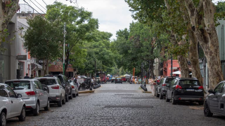 Palermo Coblestone Street typical image from Buenos Aires - 5 tips for your first time in Buenos Aires