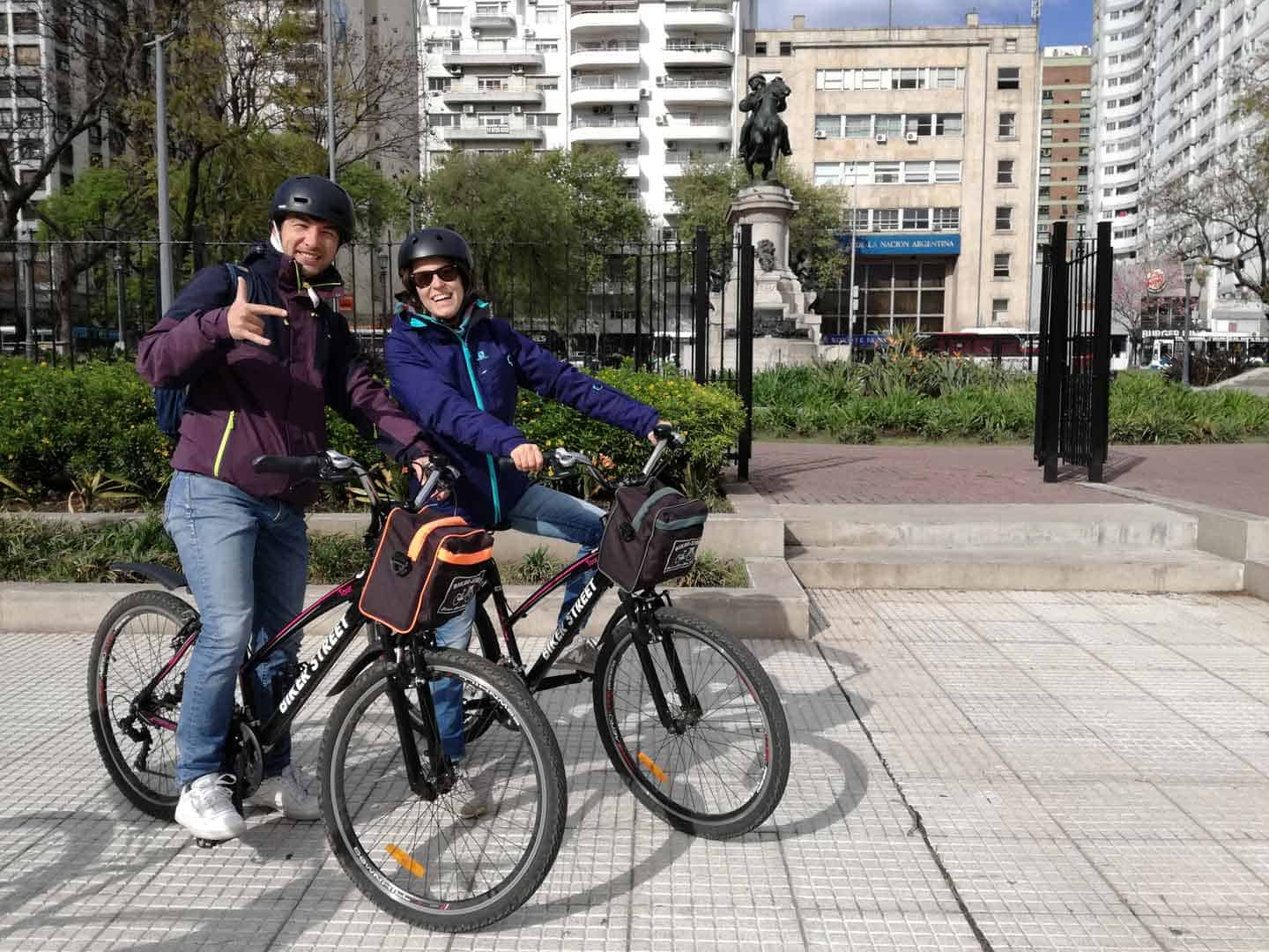 5 star review bike tours in Buenos Aires