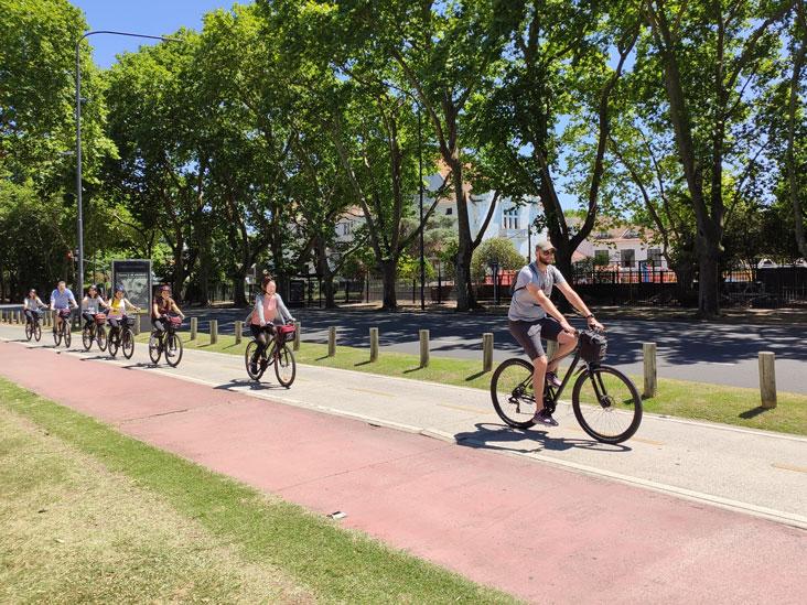 Buenos Aires Beautiful Bike Lane