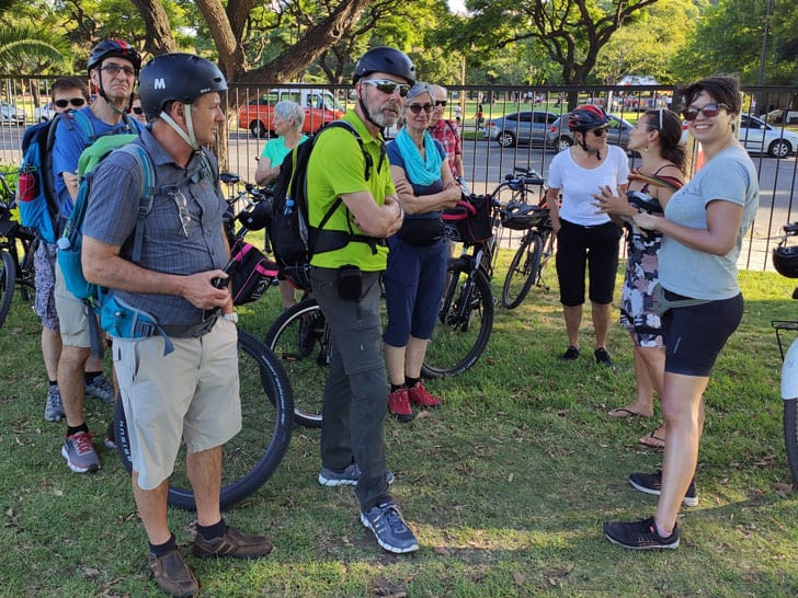 Gilda guide from biker street buenos aires bike tours