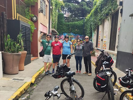 Bike tour in palermo soho the coolest area in Buenos Aires