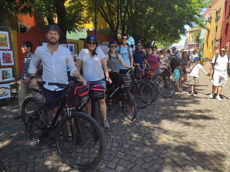 Tour en bici en grupos pequeños