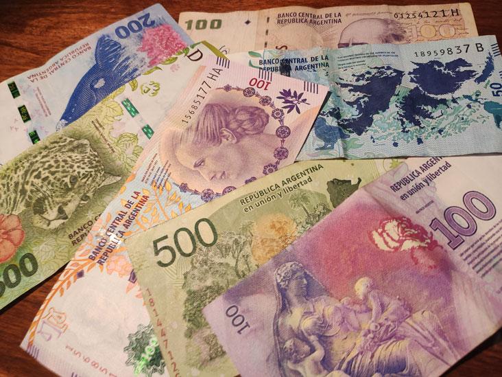 Billetes de Curso Legal Argentina