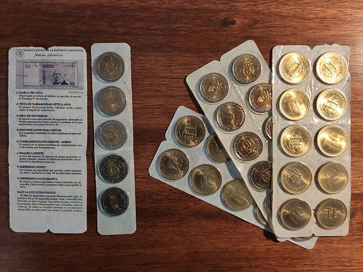 Argentine Coins Collection