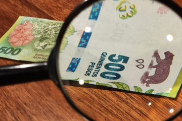 How to spot fake banknotes
