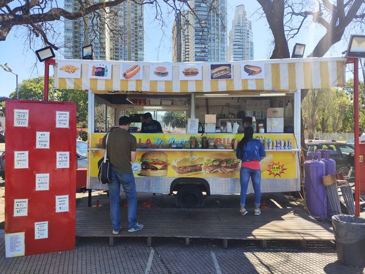 Costanera Sur Food Truck in Buenos Aires