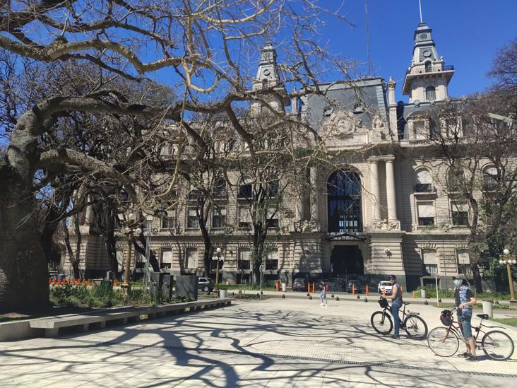 Palacio de Aduana en Buenos Aires