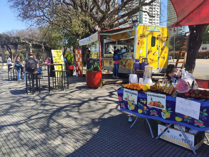 Carrito de Costanera en Buenos Aires